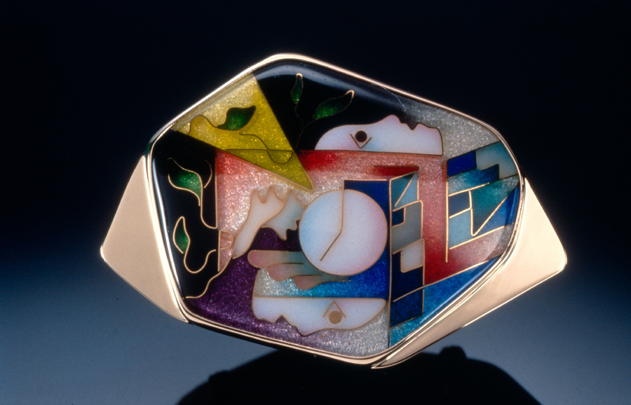 :  : DON VIEHMAN  CLOISONNE and ENAMELING